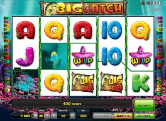 Big Catch Slot Machine.If there is one theme which runs through the entire Novomatic slots catalogue, it is the smooth production and great quality graphics in their games.This slot is based around a fishing game, which is the bonus feature.The slot is set underwater, with 5/5(1).Karataş
