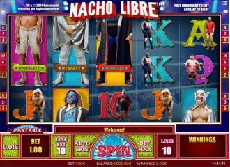 Lucha Maniacs Online Spielautomat