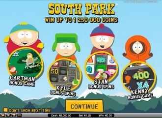 South Park - Spiele Spielautomat