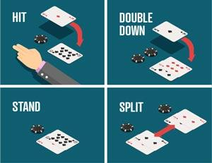 Die vier Grundregeln beim Blackjack