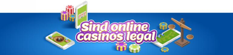 Sind Online-Casinos legal