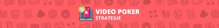Video Poker Strategie
