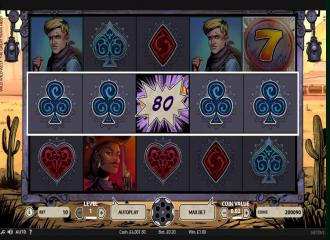 Spiele den Wild Wild West: The Great Train Heist Slot