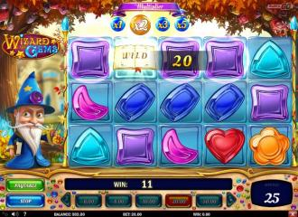 wizard of gems spielen