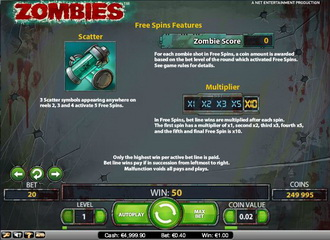 zombies slot netents schauriges spektakel mit coolem bonusspiel. Black Bedroom Furniture Sets. Home Design Ideas