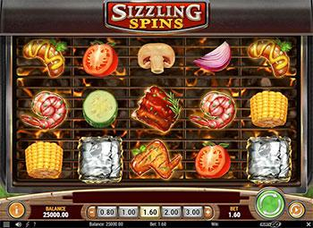 Sizzling Spins Slot Play'n Go Screenshot