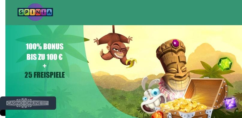 Spinia Casino Bonus