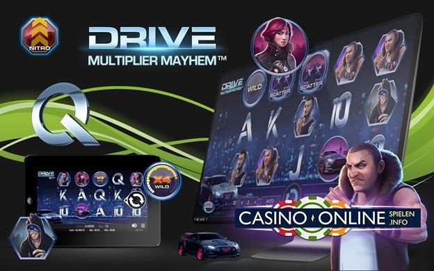 NetEnt Drive: Multiplier Mayhem™