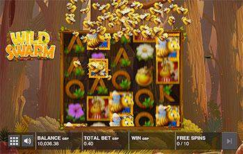 Wild Swarm Slot Screenshot