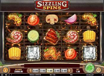 Sizzling Spins Slot Play'n Go Screenshot