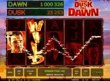 From Dusk Till Dawn greentube