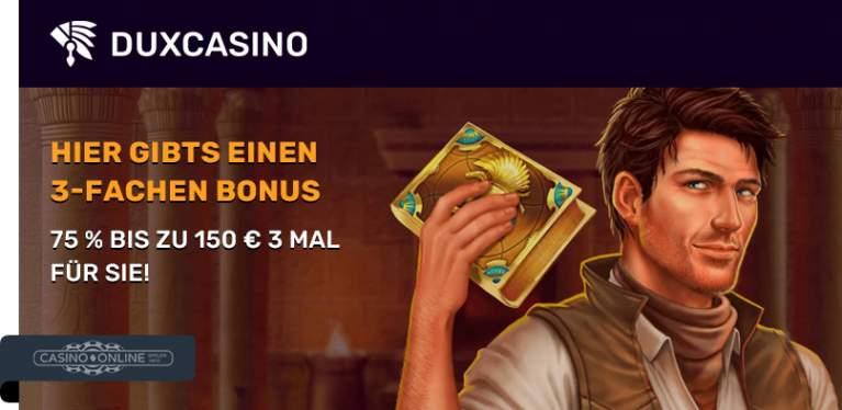 Dux Casino Promo News
