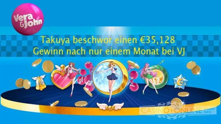 Vera&Jon €35.128 Gewinn