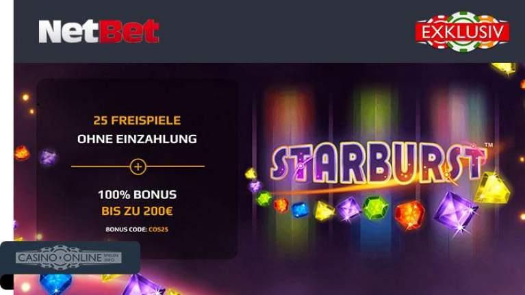 NetBet exklusiv Bonus
