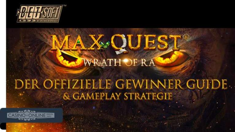 Max Quest Betsoft Gamplay Strategie Guide